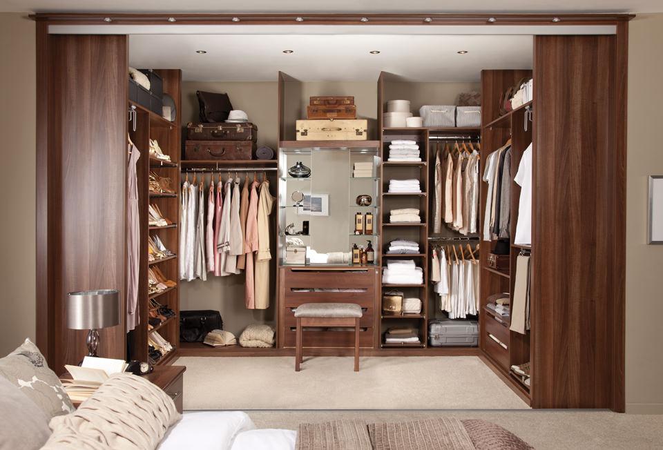 Garderoba typu walk in