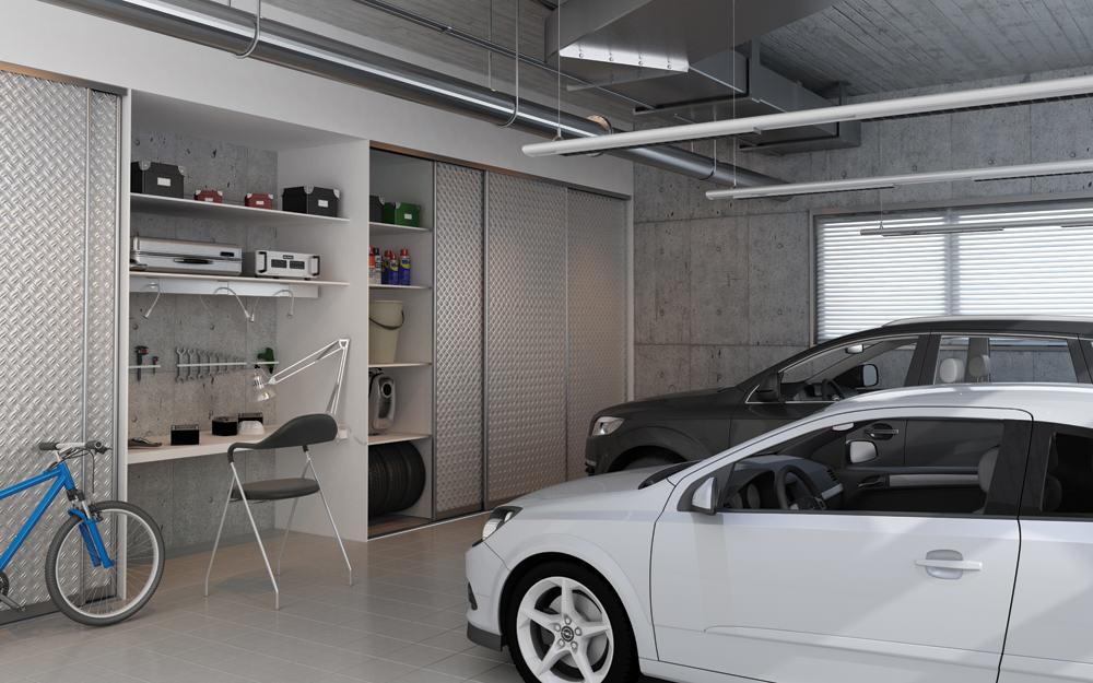 Szafy do garażu